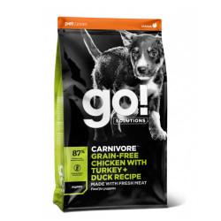 GO! GRAIN FREE Puppy Pollo, Pavo y Pato