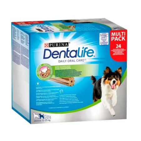 Purina DentaLife Razas Medianas 24 Sticks