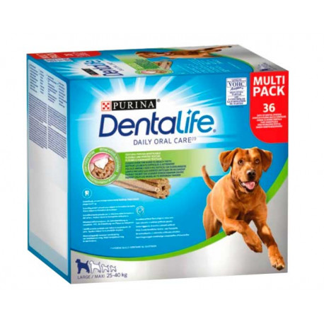 Purina DentaLife Razas Grandes 36 Sticks