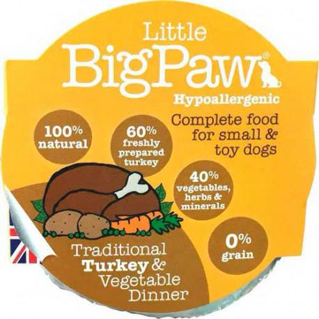 Tarrina Little Big Paw Pavo para Perros 150g