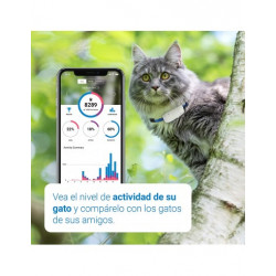Collar GPS Tractive IKATI para Gato