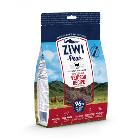 Ziwipeak Air Dried Ciervo Para Gatos 400grs
