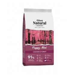 Dibaq Natural Moments Puppy Mini Pollo y Pavo