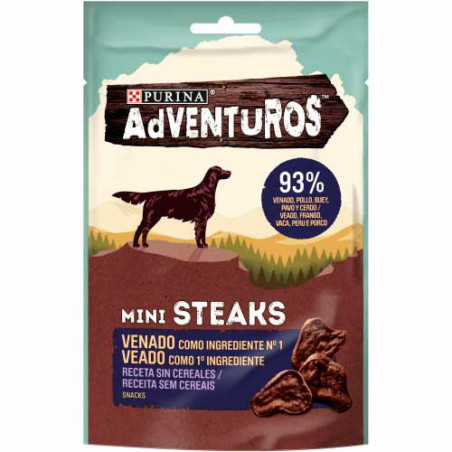 Purina Adventuros Grain Free Mini Steaks Venado