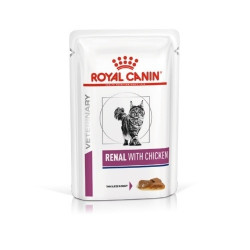 Royal Canin Renal Gatos Sobres Pollo