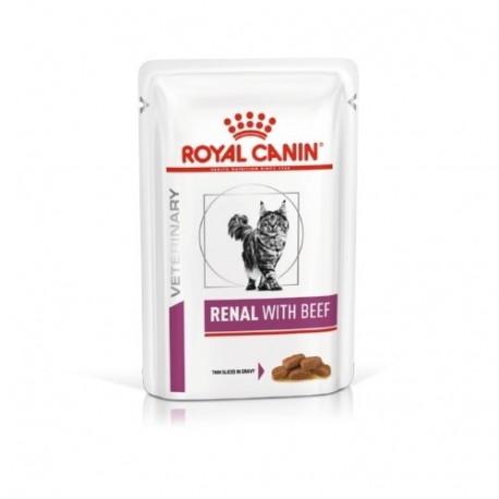 Royal Canin Renal Gatos Sobres Ternera