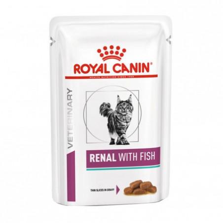 Royal Canin Renal Gatos (Sobres de Pescado)