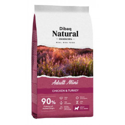 Dibaq Natural Moments Adult Mini Pollo y Pavo