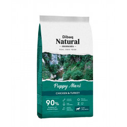 Dibaq Natural Moments Puppy Maxi Pollo y Pavo