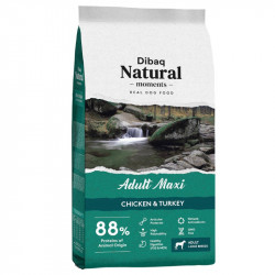 Dibaq Natural Moments Adult Maxi Pollo y Pavo