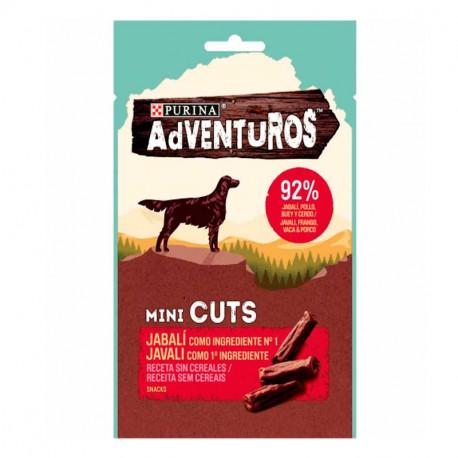 Purina Adventuros Grain Free Mini Cuts Jabalí