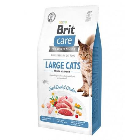 Brit Care Cat Grain Free Power Vitality Gatos Razas Grandes