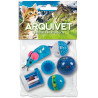 Set de Juguetes Azules para Gatos