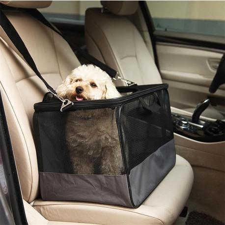 Asiento de coche Confortable para Perro Pequeño