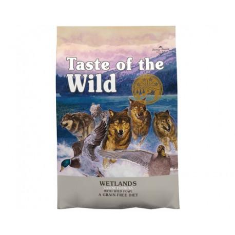 Taste Of The Wild Wetland Pato, Pavo y Pollo