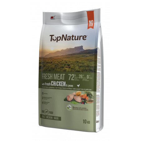 TopNature Fresh Meat Pollo Medium-Maxi 10kg