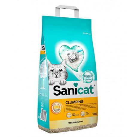 Sanicat Professional Clumping 10L para 25Dias