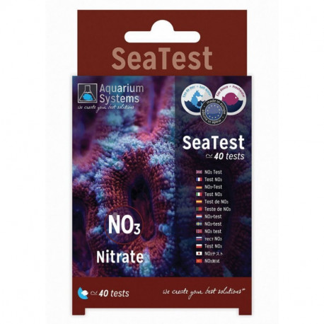 Aquarium Systems SeaTest 40 Test Nitrato