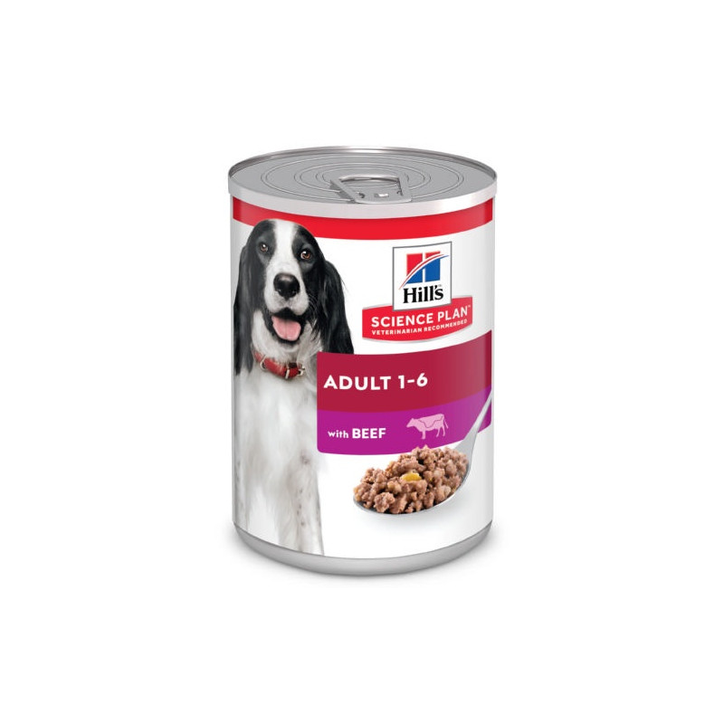Hills Canine Adult con Ternera 370g