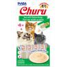 Churu Inaba Puré de Pollo y Atún para Gatos