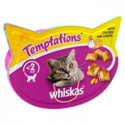 Whiskas Temptations Pollo y...