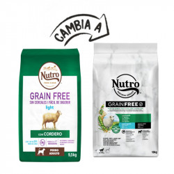 Nutro Light cordero Grain Free