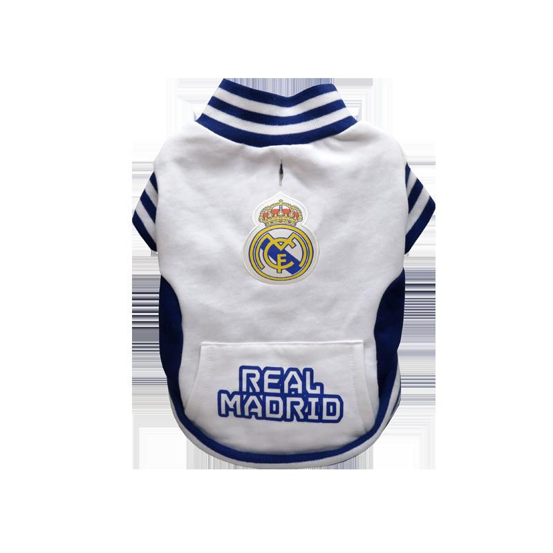 Sudadera para Perros del Real Madrid