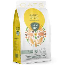 Natura Diet Gatito Pollo y...