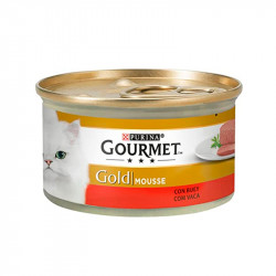 Friskies Gourmet Gold Mousse Buey 85g