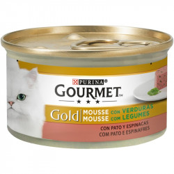 Gourmet Gold Mousse Pato y espinacas