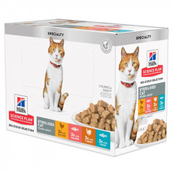 Hill's Delicious Selection Sterilised Adult Cat