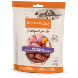 Nature's Variety Snack Pavo para Perros