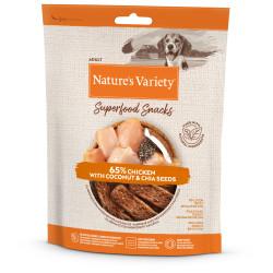 Nature's Variety Snack Pollo para Perros