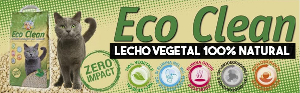 Lecho Vegetal 100% Natural EcoClean 6L