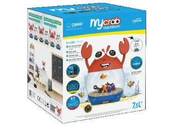 Acuario Ciano My Crab 7,5L con Filtro