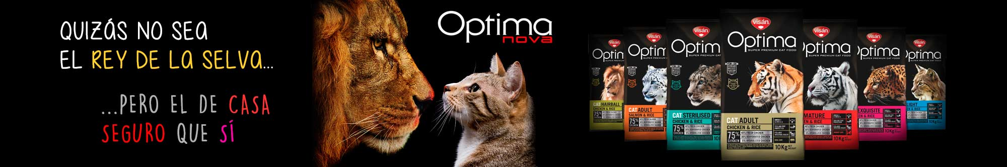 Optima NOVA gatos