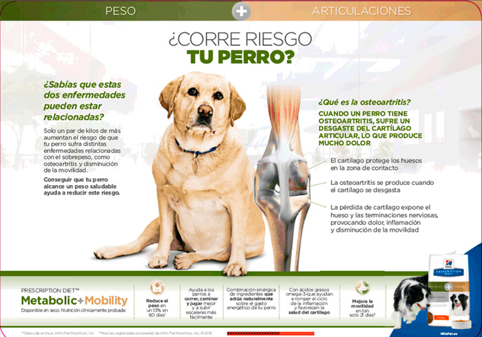 Hill's Canine Metabolic Mobility