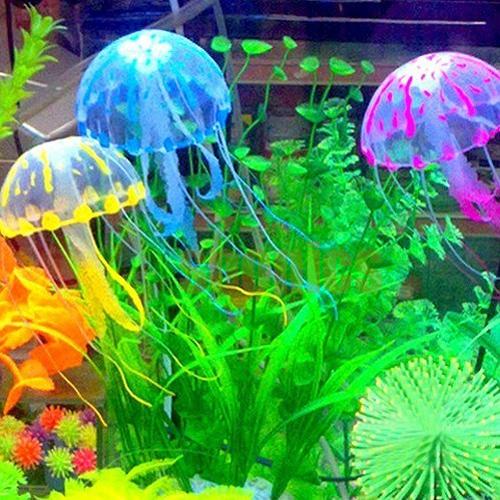Medusa Decoración Acuario