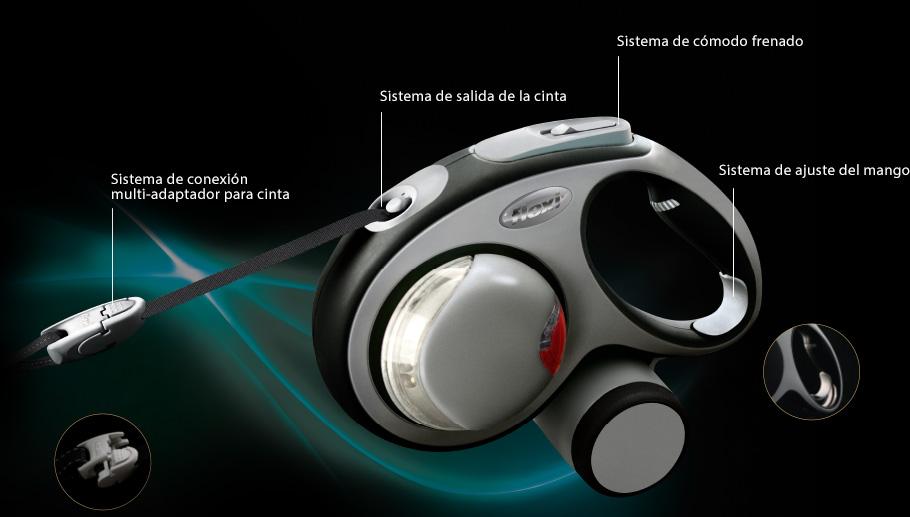 Flexi Vario Cinta Correa Extensible 5 Metros (M)