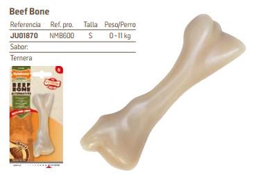 Nylabone Beef Bone de Ternera