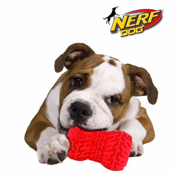 Juguete de Goma Nerf Feeder Dog Trax