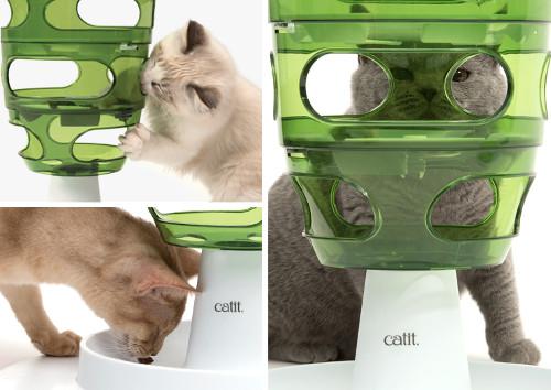 Catit Senses 2.0 Food Tree Laberinto Comida y Premios