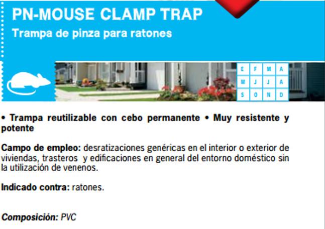 Trampa para Ratones Clamp Trap