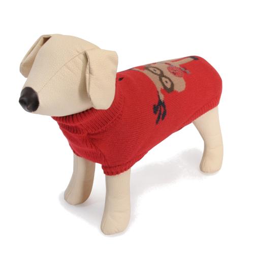 Jersey de Navidad para Perros Rudolph