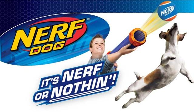 Lanza Pelotas Nerf Dog para Perros