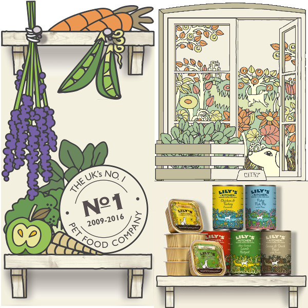 Lily's Kitchen lata de Ganso y Pato con Frutas