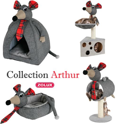 Cama Arthur para Perros y Gatos