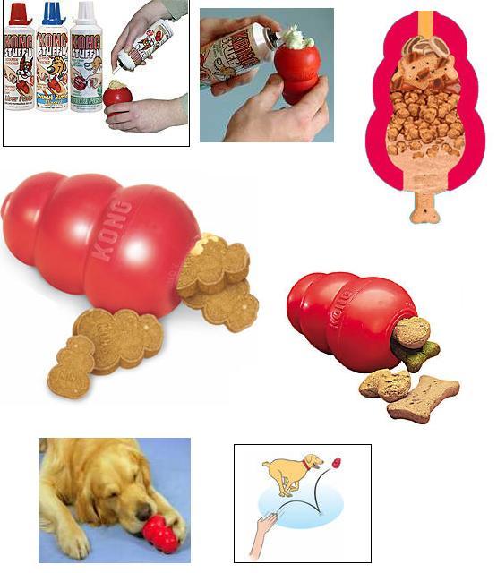 Kong Rojo Original Para Perros