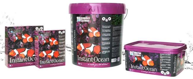 Sal Instant Ocean para acuarios