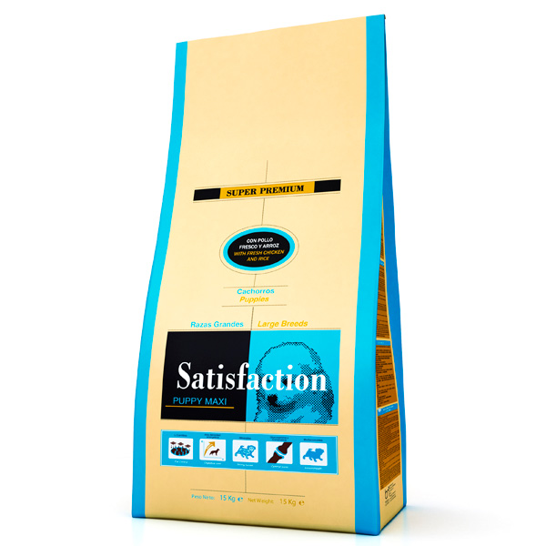 Satisfaction Puppy Maxi 15kg
